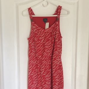 Red Thin Strap Dress